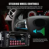 Car Stereo Radio with Bluetooth 6.2 Inch Touch