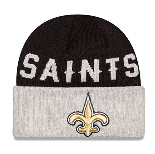 枝ヤギどちらか新しいOrleans Saints New Era NFLクラシックカバーCuffedニット帽子