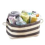 mDesign Knit Baby Organizer Bin, Rectangle, Large