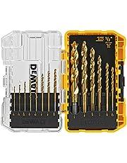 DEWALT Drill Bit Set, Titanium, 14-Piece (DW1354) , Yellow