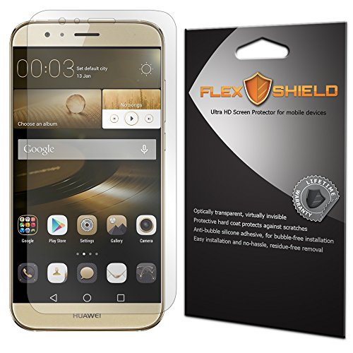5x [ Accessories for Huawei G8 ] Tempered Glass Screen Protector - 1