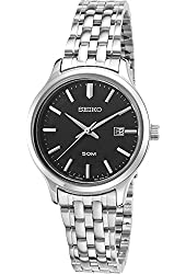 Seiko Watches Womens Neo Classic Stainless Steel Watch