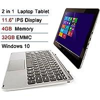 Intel Atom X5 Z8300 11.6 IPS 4GB RAM 32GB EMMC Touchscreen 2-in-1 Laptop Tablet PC Windows 10 + Bluetooth keyboard Docking