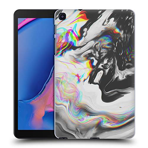 Official Malavida Blue Velvet Abstract B&W Psychedelic Hard Back Case Compatible for Galaxy Tab A 8.0 & S Pen 2019