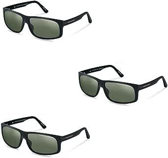 Porsche Sunglasses P 8572 A Matte Black 64mm at Amazon Men