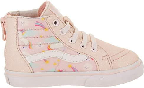 8702b0d597df Toddler SK8-Hi Zip (Glitter Pegasus) Heavenly Pink True White VN0A32R3U07  Toddler Shoes. Vans Toddler SK8-Hi Zip (Glitter Pegasus) Heavenly Pink True  White ...