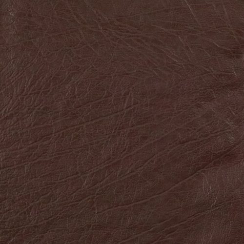 Faux Leather Buffalo Chocolate Fabric product image