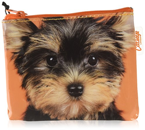UPC 670983082586, Catseye Yorkie On Orange Cosmetic Bag, Mini