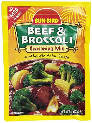 (Sunbird Beef and Broccoli Seasoning Mix, 1 Ounce)