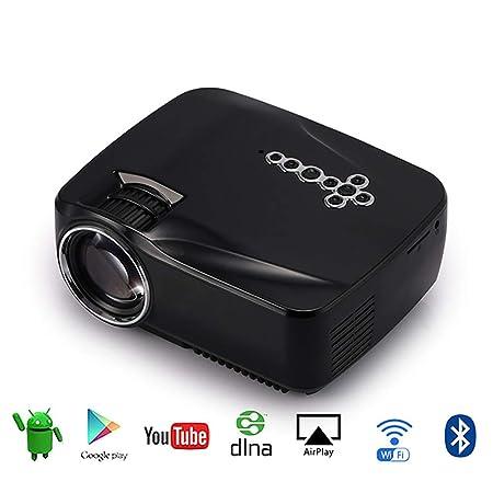 Mini proyector portátil, Pocket LED Proyector de Video móvil con ...