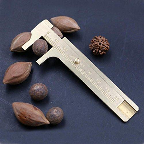 (Digital Copper Alloy Caliper Micrometer Caliper Inch/Metric/Fractions Conversion 80 mm Measuring Tool ,Tuscom (#1))