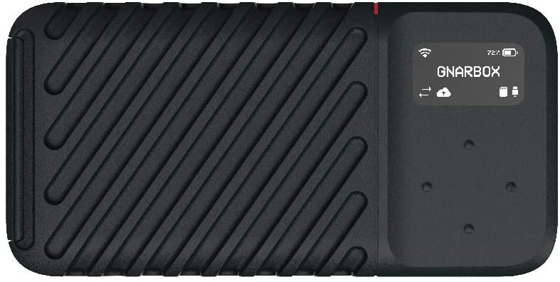 GNARBOX 2.0 SSD (256GB) - Rugged Backup Device for Your Camera