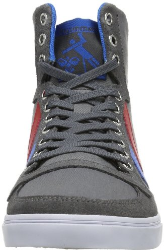 Zapatillas Ribbon Blue Castle lona Rock para STADIL SLIMMER Brilliant Red HIGH HUMMEL hummel hombre de Gris qvTIwS77