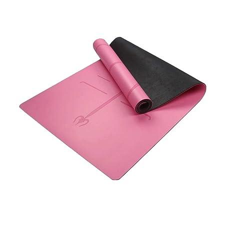 XUMI Yoga Mat, 1830 * 680 * Mat 6 Mm Yoga TPE con La Posición De