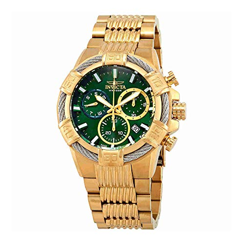 Men's 'Bolt' Quartz Stainless Steel Casual Watch, Color:Gold-Toned (Model: ) - Invicta 25869
