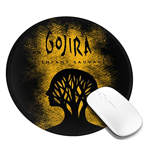 Gojira L'Enfant SauvageSmall Round Mouse Pad 7.9X7.9