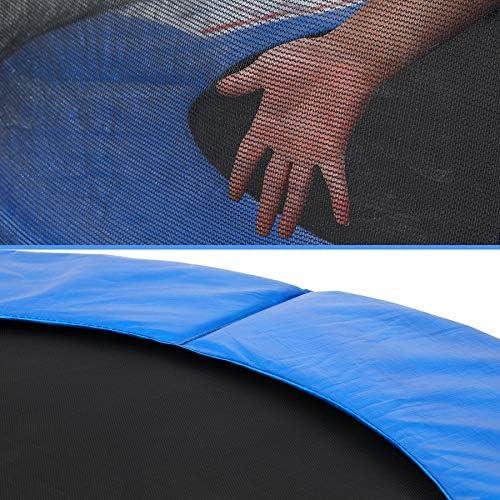 copertura del bordo e accessori Monzana diametro 183 cm Trampolino per bambini set completo con rete di sicurezza 50 kg