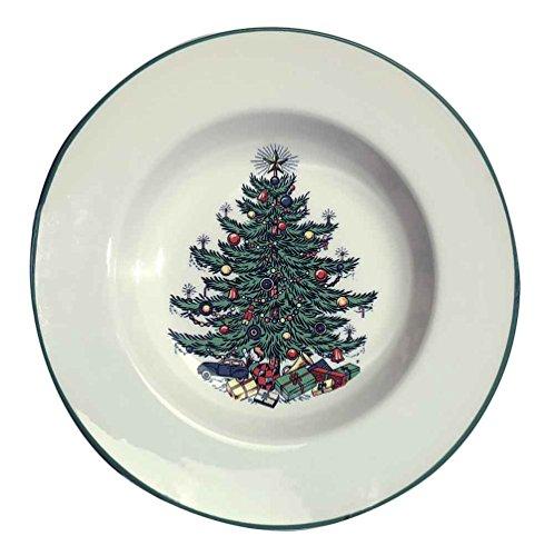 Original Christmas Tree Traditional Rim Soup, 9 3/4