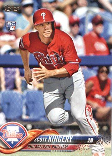 2018 Topps Baseball Series 2#409 Scott Kingery RC Rookie Philadelphia Phillies Official MLB Trading Card