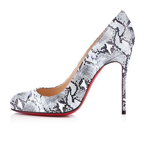 Stiletto Rond Escarpins Aiguille Bout Ubeauty Grande Taille Talon b Serpentine Chaussures Femmes qtZx6X