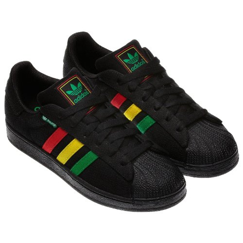 Adidas Superstar Green Black