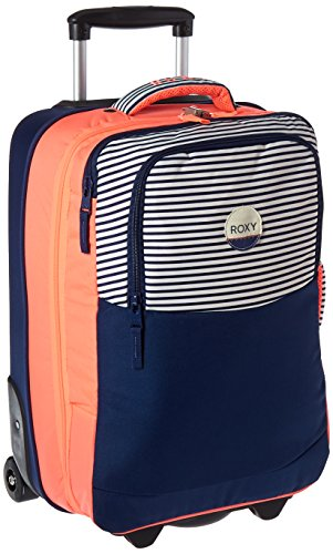 Roxy Women's Roll up Roller Luggage Bag, Neon Grapefruit by Roxy