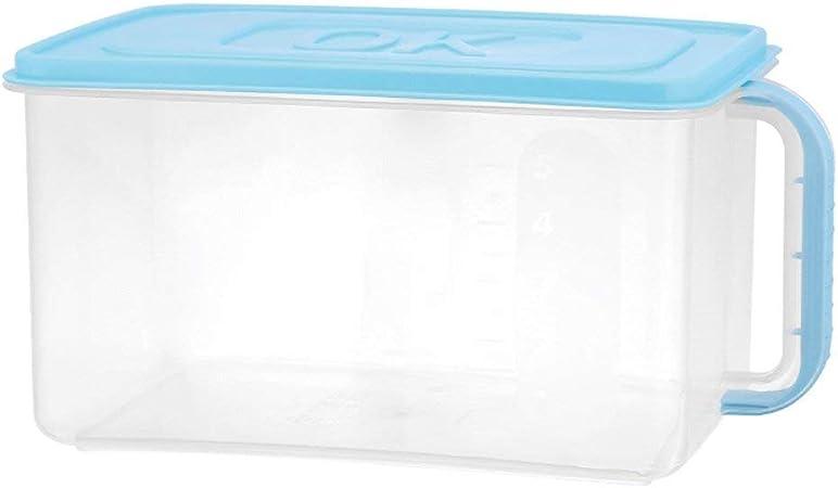 Caja de almacenamiento para frigorífico con acabado de cajas de almacenamiento de plástico para cocina, sellos, frigoríficos, cajas de almacenamiento de alimentos #1: Amazon.es: Hogar