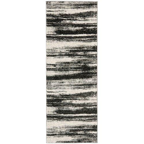 51NqMv2lv1L - Safavieh Retro Collection RET2866-1379 Abstract Beige and Light Grey Square Area Rug (8' Square)