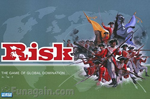 Risk 1998 Board Game With Army shaped Pieces by Parker Brothers by Parker Brothers