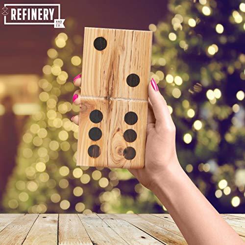 Jumbo wood dominos