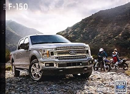 2018 Ford F 150 Truck 58 Page Sales Brochure Catalog Svt Raptor King Ranch