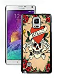 Ed Hardy 11 Black Samsung Galaxy Note 4 Phone Case,Popular Style