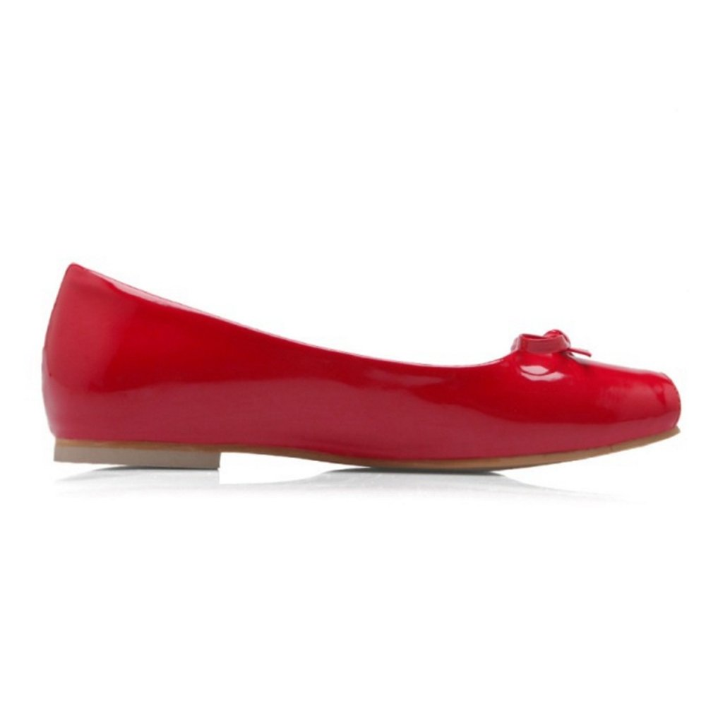 CuteFlats Women Flats with Square Toe Large and Casual Flats with Large Toe B07FD3SRVF 44 EU = 11 US|Red c50f9c
