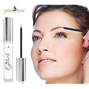 Eyelash Growth Serum - Best Eyebrow Serum For Fuller & Thicker Lashes & Brows - Supports Hair Growth, Thinning Lashes, & Managing Fall Out - Eyelash Serum Perfectly Formulated With Natural Ingredients