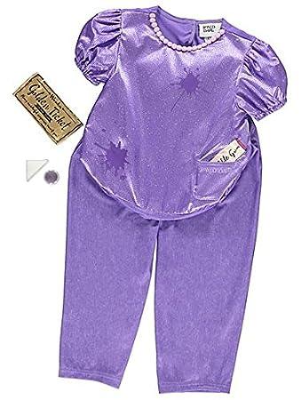 george roald dahl violet beauregarde girls fancy dress costume