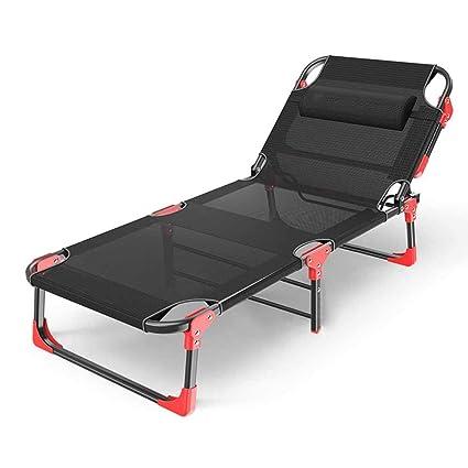 Sun Lounger Folding Day Bed Outdoor Garden Patio Furniture Relaxer Reclining