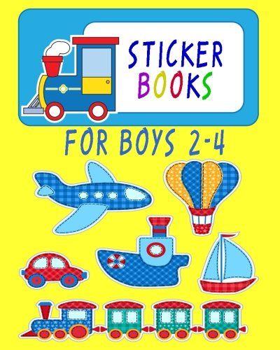Sticker Books For Boys 2-4: Blank Permanent Sticker Book PDF ePub book