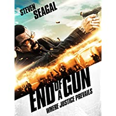 END OF A GUN: Starring Steven Seagal on Blu-ray, DVD, and Digital HD on December 13 from Lionsgate