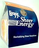L'eggs Sheer Energy Pantyhose, Reinforced Toe, Suntan, A