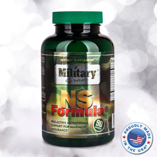 NS Формула | кофе без кофеина Военная Выносливость Адаптоген и повысить Дополнение * | 90 вегетарианские капсулы | Военная Проверено