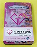 SNSD GIRLS' GENERATION - TRANSPARENT PHOTO CARDS 25pcs [FAN GOODS]