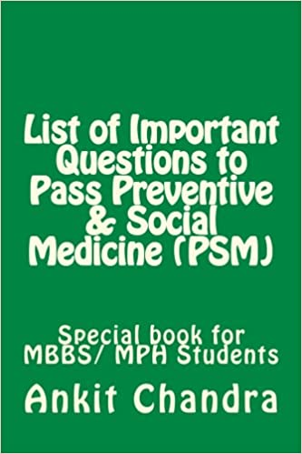 Buy List of Important Questions to Pass Preventive & Social