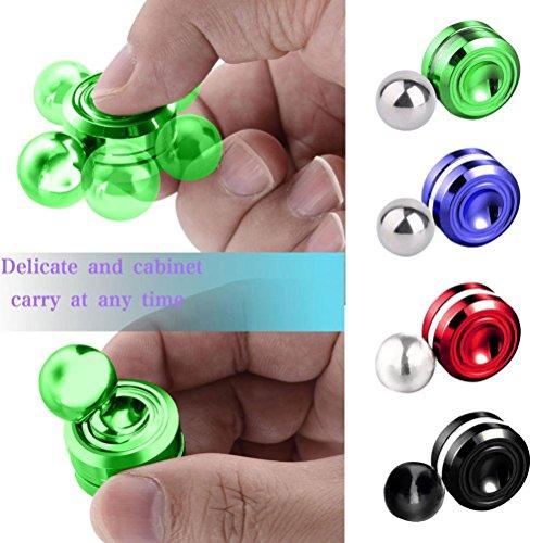Orbiter Fidget Spinner,Wensltd 2017 New Magnetic Orbit Ball Hand Spinner Anti Depression Toy (Purple)