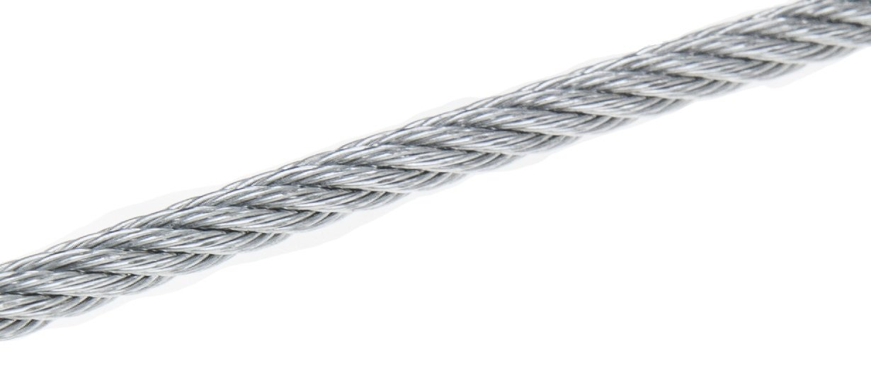 1 32 7x7 Stainless Steel Aircraft Wire Rope Cable T304 500 Reel Amazon Com Industrial Scientific