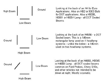 H6545 Headlight Wiring Diagram - Wiring Diagrams on
