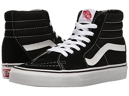 Vans Unisex Sk8-Hi Canvas High Top Shoes (10.5 Men's 12 Women's, - Men Canvas Vans Shoes