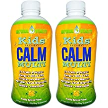 Natural Vitality, Kids Natural Calm Multi, Organic Fruity Splash Flavor, 30 Ounce, 2-Pack