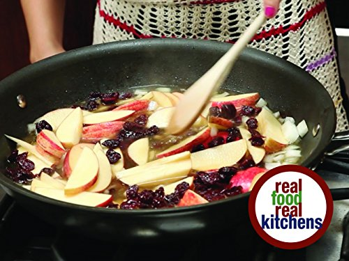 (Real Food Real Kitchens - Cherry Apple Pork Chops)
