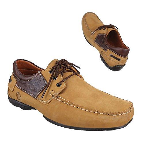 Ital-Design - Zapatos Hombre Marrón - beige camel