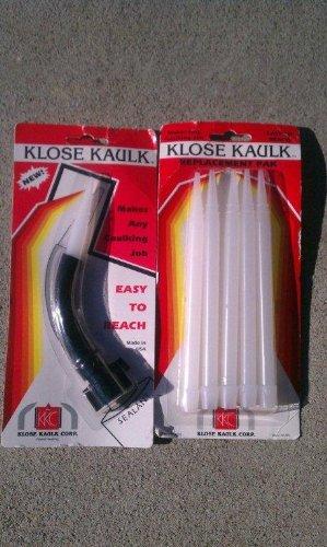 Extendable Caulk Gun Nozzles